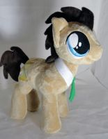 Dr Whooves plush for deft2kcolin by Cryptic-Enigma