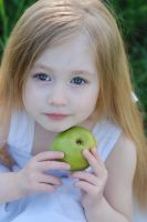 Green apple_1 by anastasiya-landa