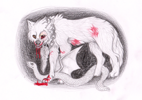 white nightmare by Griwi