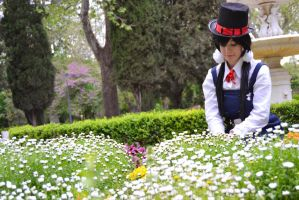 Seller of dreams - Tamako market cosplay by Voldiesama