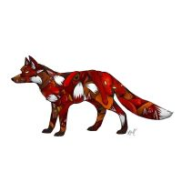 Fox of Foxes by Marcynuk