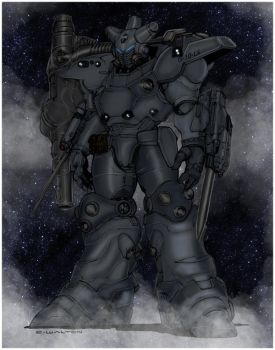 Rifts Shadow Boy Power Armor By Chuckwalton by Highlander0423