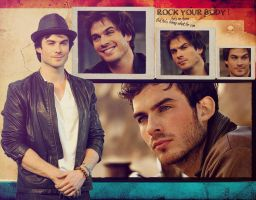 Ian Somerhalder - Wallpaper by me969