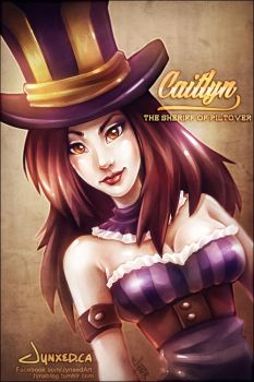 Caitlyn | League of Legends by Jynxed-Art