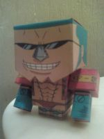 Franky (2 Years Later) Cubee Finished by rubenimus21
