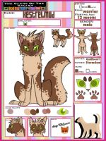 Kestrelmud | male | Clover | warrior by TheClansOf-TheValley