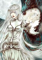 OoS - la Dame Blanche - Time is mine by CloverDoe