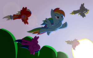 Take flight by RedEnchilada