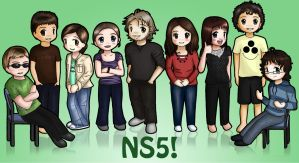 Floormates of NS5 by channellehazel