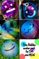 Free Bubble avatar pack by MixedMilkChOcOlate
