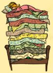 The Princess and the Pea by charliegaines