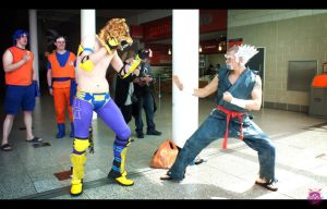 King Vs Heihachi by NekoFlameAlchemist