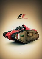 formula 1 by Aheney