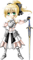G: Saber Lily by wickedz