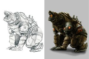 .: Hamlet The Bearbot::. by contravere