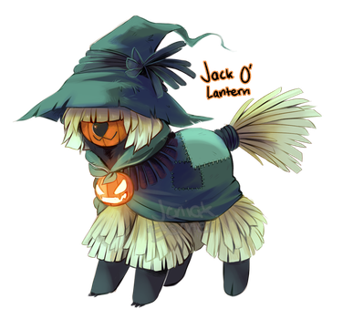 Jack 'O Lantern Koddoe - 24h auction [CLOSED] by Jeniak