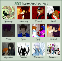2010 Summary of Art by Cel-Dreams