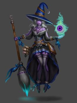 Witch by bylorang