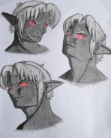 Head Angle Practice by Varethyn