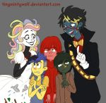 One Big Happy Family...? by TinyMintyWolf
