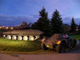 Tank and Jeep Stock by da-joint-stock