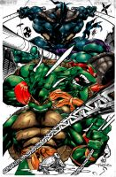 Teenage Mutant Ninja Turtles by etherealstudios2000