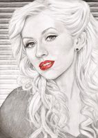 Christina Aguilera by Matilzie