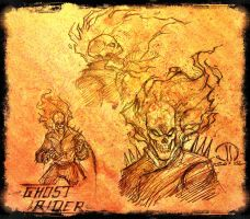 Ghost rider warm ups by JoeyVazquez