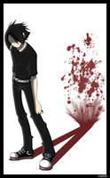 Splattered.Blood.Shadow by hatethisfool