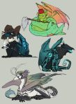 Dragon babbies by Torrentpelt