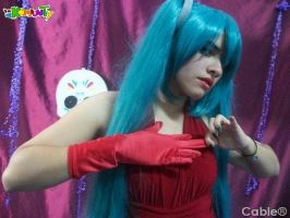 Hatsune Miku Cosplay: Poor you! by ROYAL1105