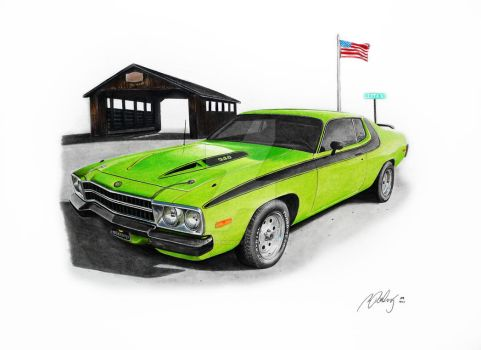 Plymouth Roadrunner 72 by Mipo-Design