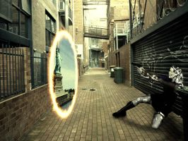 Fighting with Portals by MrCarlLister