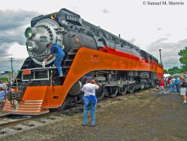 From the Vault : Southern Pacific 4449 by Aranimu