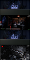 Hiro Hamada plays Five nights at Freddy's. by brandonale