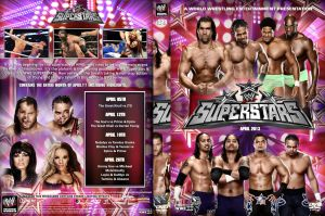 WWE Superstars April 2013 DVD Cover by Chirantha