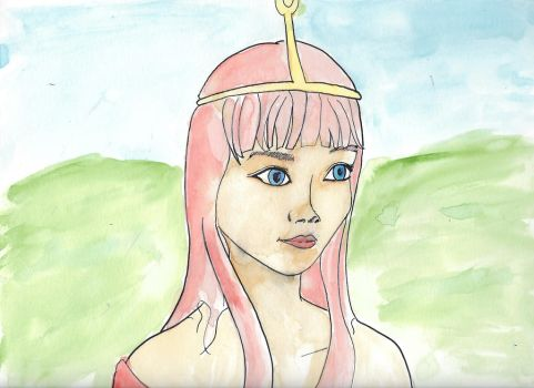 Princess Bubblegum by PaulHewittArt