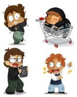 The Gnuppe -CHIBIS- by LeniProduction