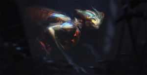 Mothman by GG-arts