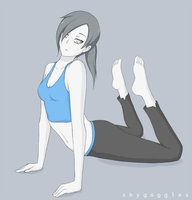 Wii Fit Trainer 2 by shyGoggles