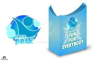 my design for aqua park ( logo and brochure ) by AleksandarN