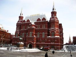 State Historical Museum of Russia by trentsxwife
