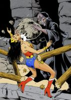 Wonder Woman vs Zardor by Eviltrevor