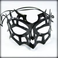 Spiderweb Mask by pilgrimagedesign