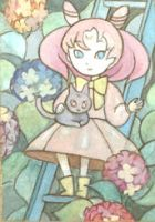 aceo: chibiusa + diana by skylite-compass