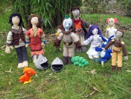 crochet Daedalic Entertainment by Twinsmanns