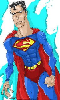 SUPERMAN by fountainspen