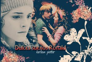 Dulces suenos, Ronald by MarySeverus
