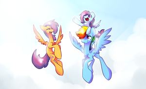 Reach for the sun by Atrixy