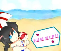 Summer! by mikufan75